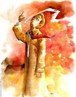 Constantine Watercolour by rogercruz
