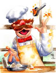 Swedish Chef by rogercruz