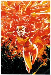Dark Phoenix1 by rogercruz