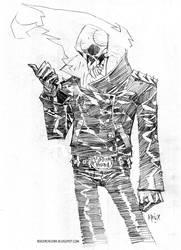 Ghost Rider by rogercruz