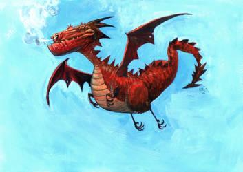 Red Dragon by rogercruz