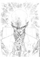 Charles Xavier by rogercruz