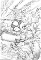 Thor and Friends by rogercruz