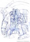 Hellboy pencils