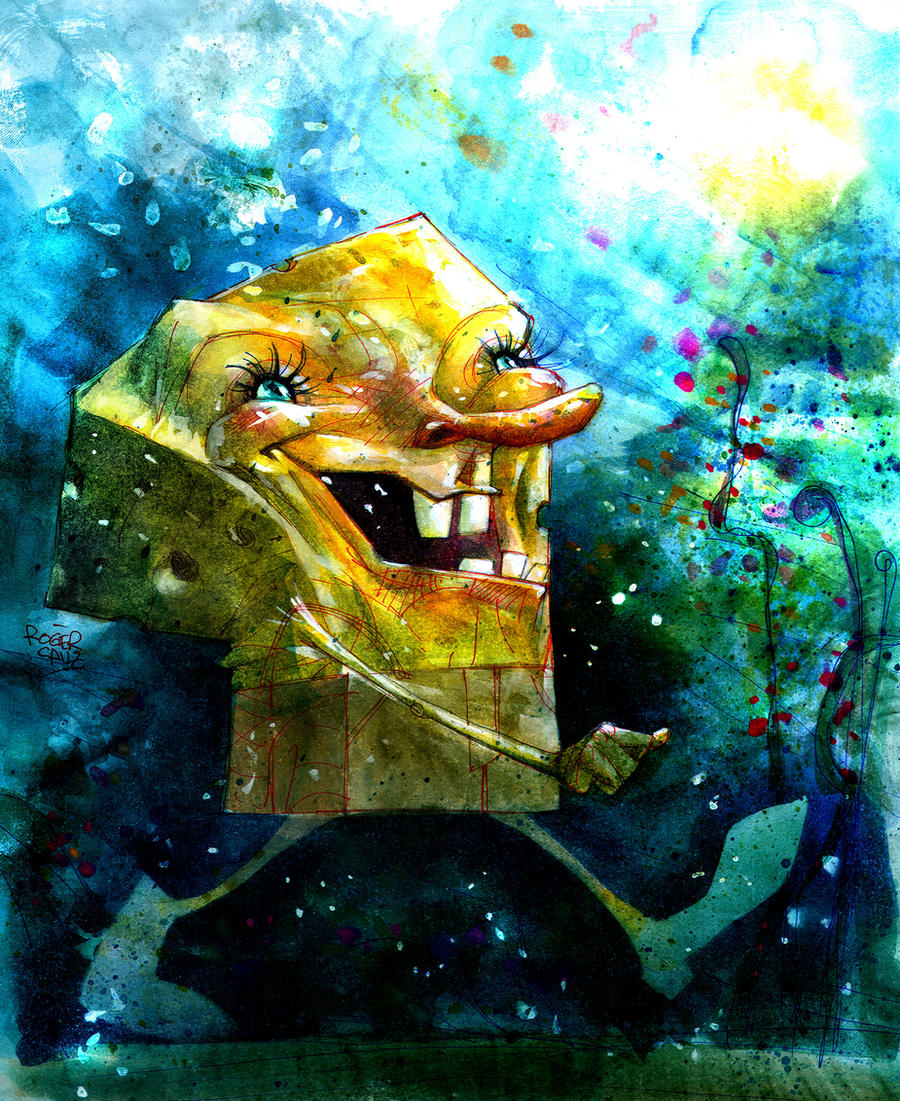 SpongeBob by rogercruz