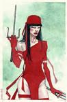 Elektra watercolor pic