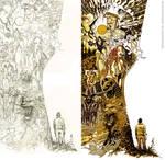 Roger Cruz Artbook Back cover