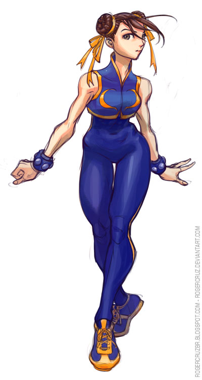 Chun Li Digital by rogercruz