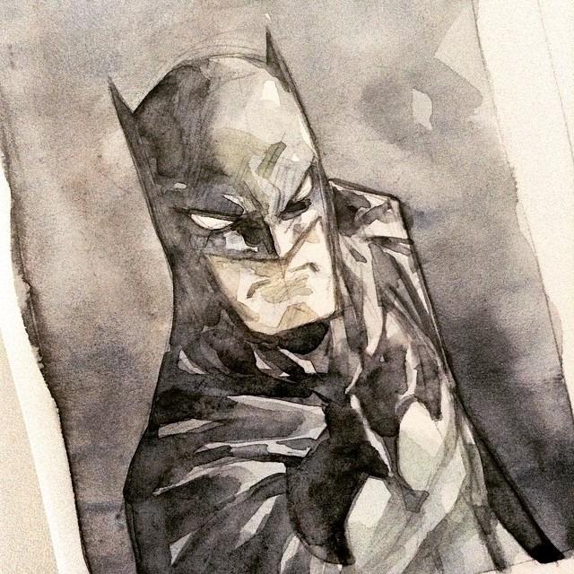 Batman - 22mar 2015 by rogercruz