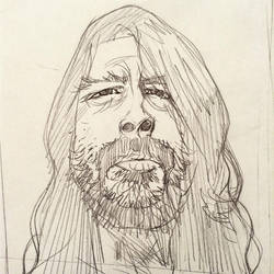 Grohl by rogercruz