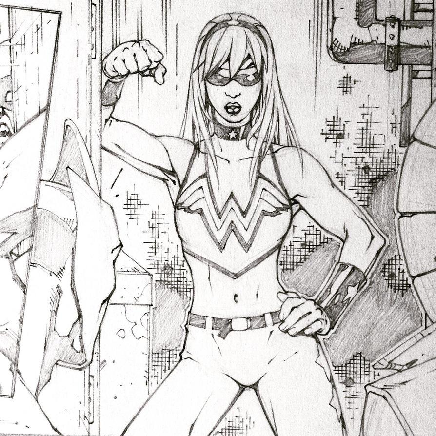 Wonder Girl by rogercruz