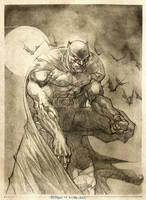 BATMAN pencils by rogercruz