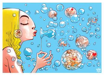 bubbles by rogercruz