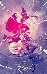 Jimmy Page (Led Zeppelin) 2016 by rogercruz