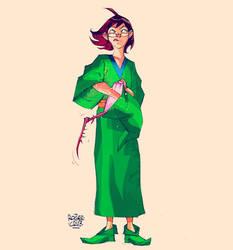 Presto The Wizard by rogercruz