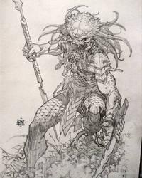 Predator Commission 2 by rogercruz