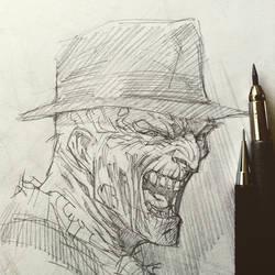 Freddy sketchbook