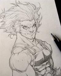 Lion-O Thundercats by rogercruz
