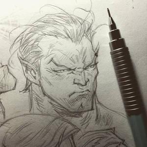 Namor Sketchbook