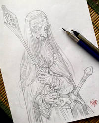 Gandalf the white by rogercruz