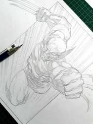 Wolverine 24 Sep 2018 by rogercruz