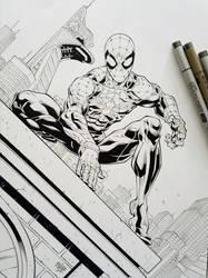Spider Man Inks