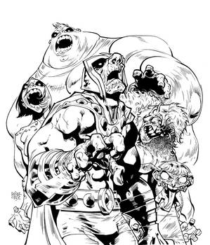 Os Fabulosos - zombies