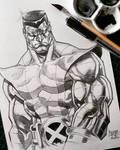 Colossus Watercolor