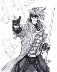 Gambit-watercolor