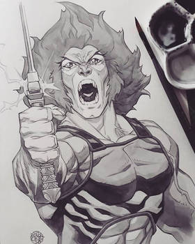 Lion-o watercolor
