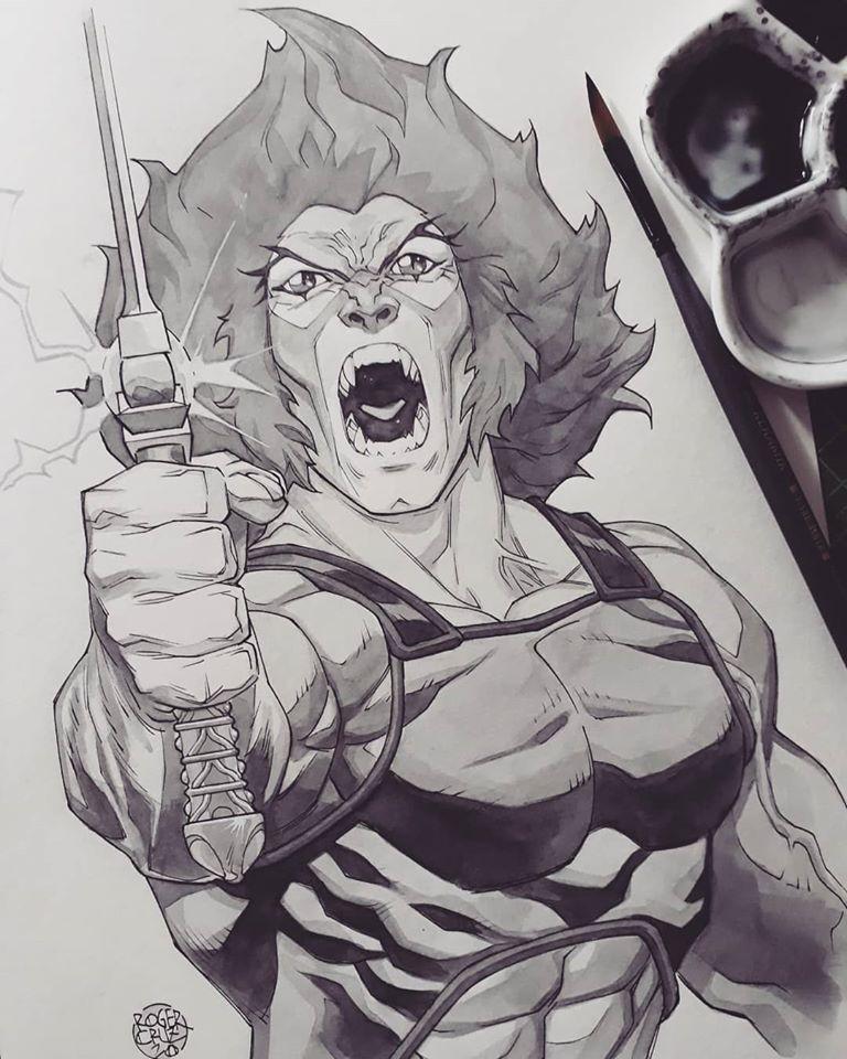 Lion-o watercolor