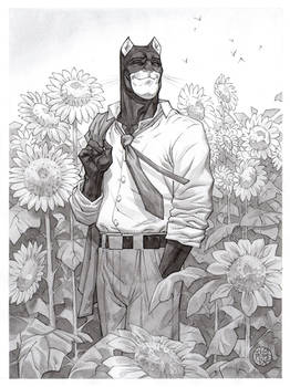 Blacksad Sunflowers