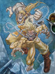 Sabretooth and Wild Child - Age of Apocalypse