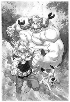 Obelix Asterix Idefix