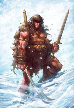 Conan by Rogercruz and Ryanlordart