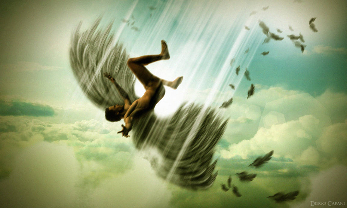 Falling Angel by DiegoCapani