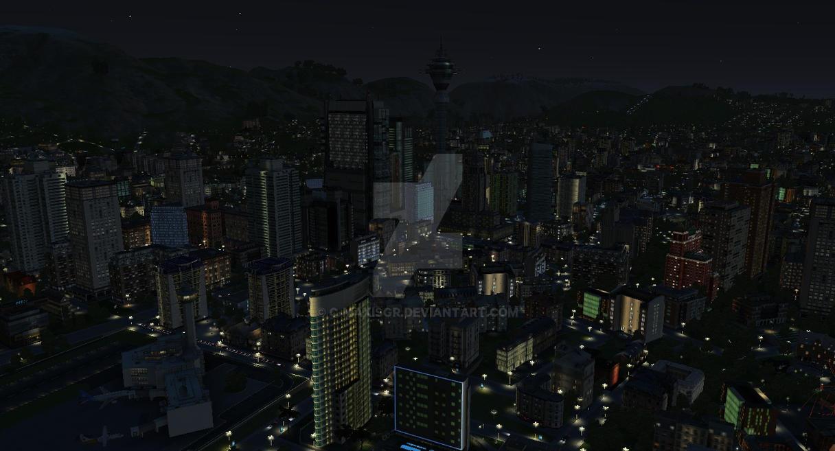 Mezzalina at Night by C-MaxisGR