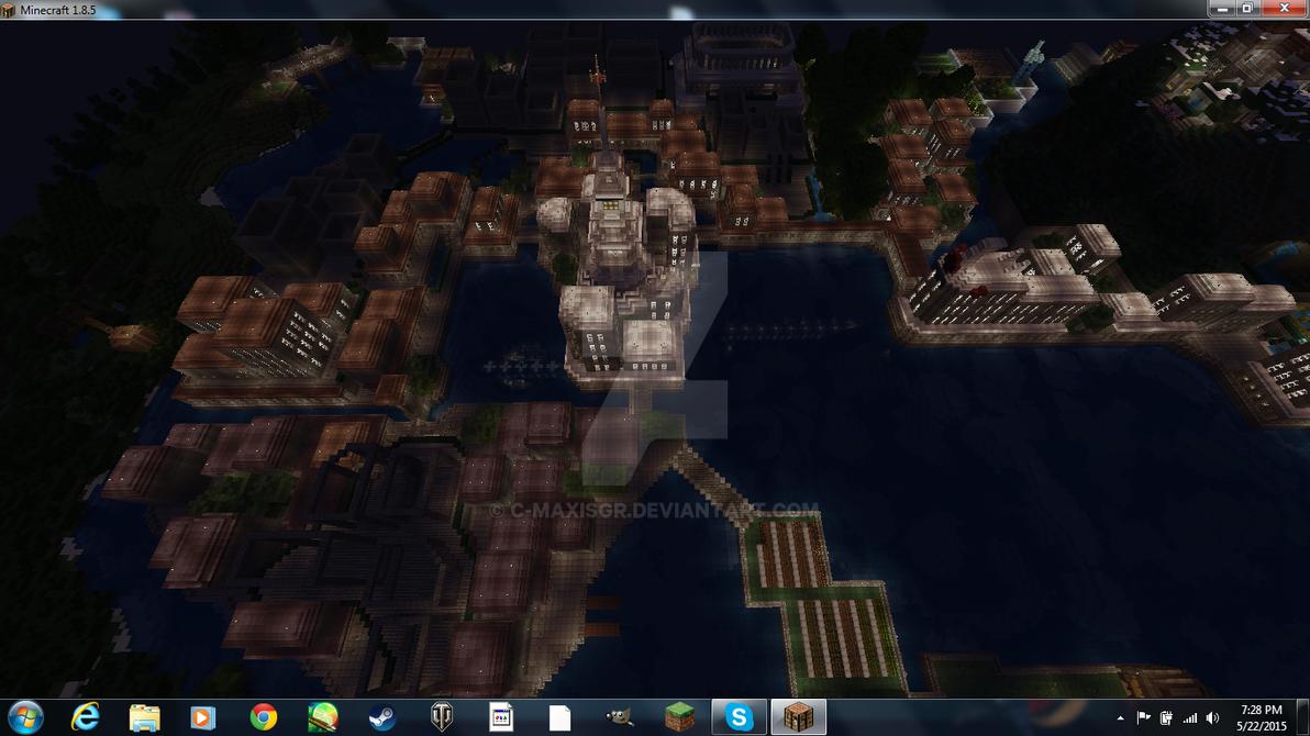 Mezzalina City Minecraft by C-MaxisGR
