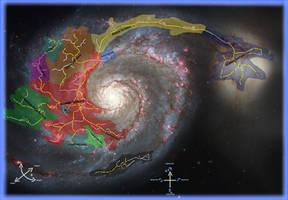 2016 Reconstruction: Whirlpool Galaxy by C-MaxisGR
