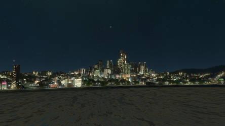 Niu Pallos at night