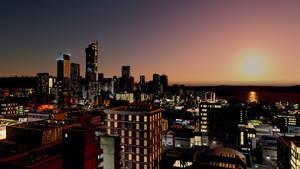 Niu Pallos at Sunset