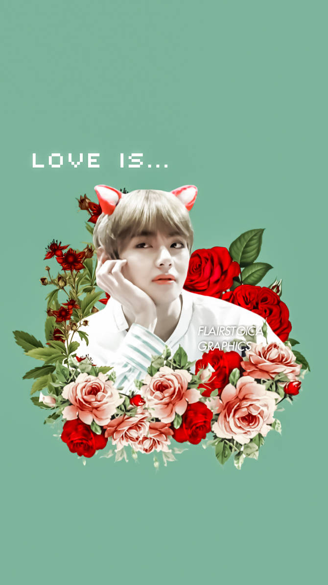 Bts Kim Taehyung Wallpaper By Flairstoica On Deviantart