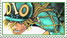 JJBA: Diego Brando stamp by Little--Dove