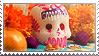 Dia de muertos stamp by Little--Dove