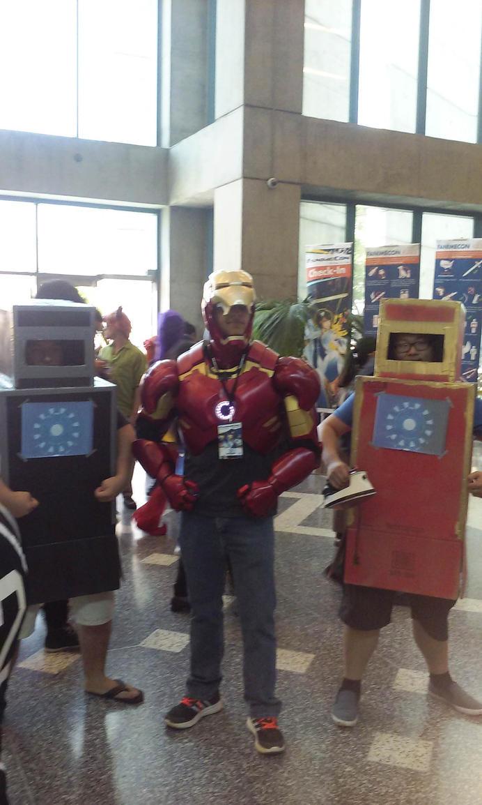 The Iron Men by reivax