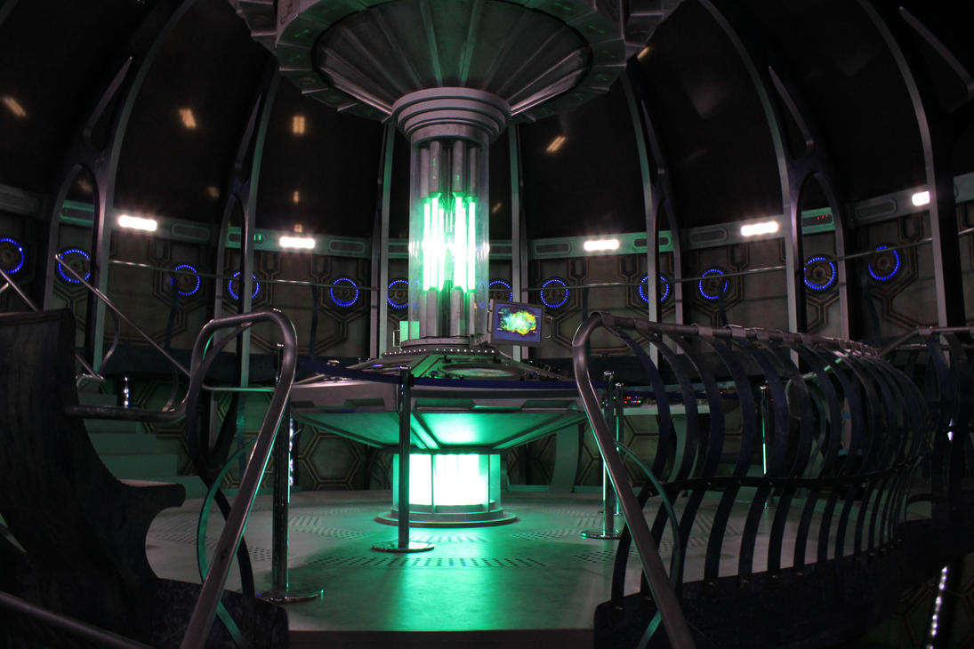 TARDIS Console Room, Matt Smithu0027s 2nd Tardis By ...