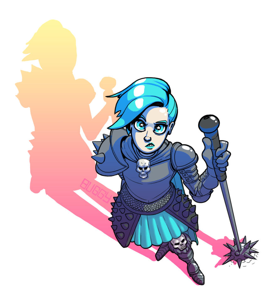 ArmorGirl by MechaBuggy