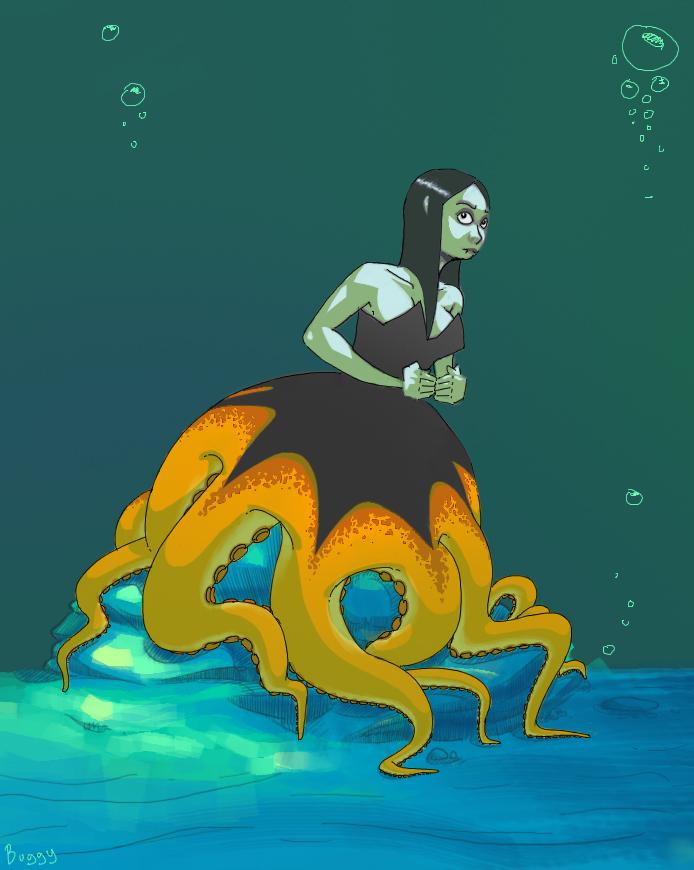 Octomaid by MechaBuggy