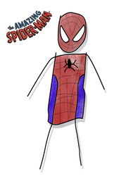 The Amazing Spiderman Drawned
