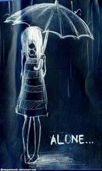 Raining... by nandamegumi